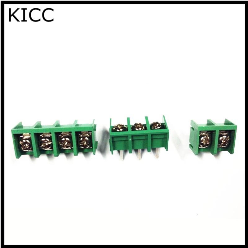 Фонарик, Соединительный терминал KF9500, 4 контакта, 9,5 мм, клемма PCB может соединяться 300 В, 20 А, 5 шт.