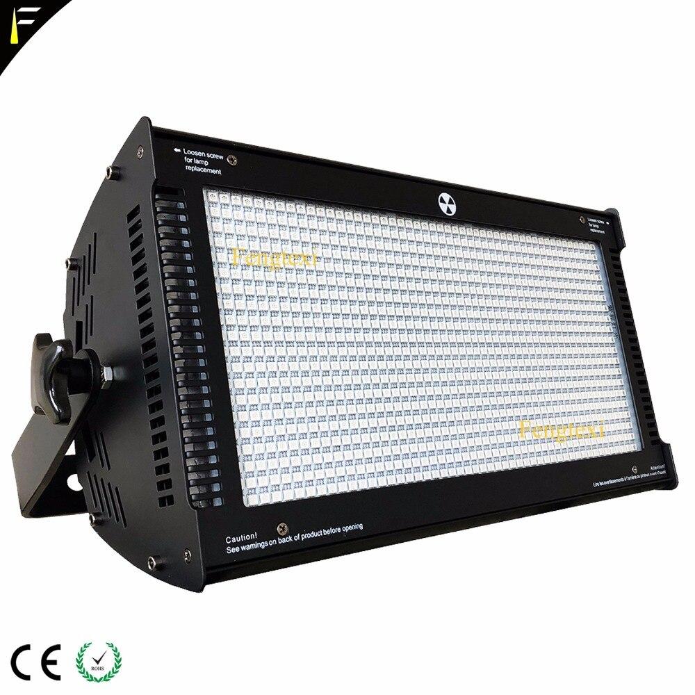 Atomic светодио дный 1000 Вт DMX Strobe Light/лампы для стробоскопа Fit диско DJ эффект 1000 Вт вспышки света оборудования