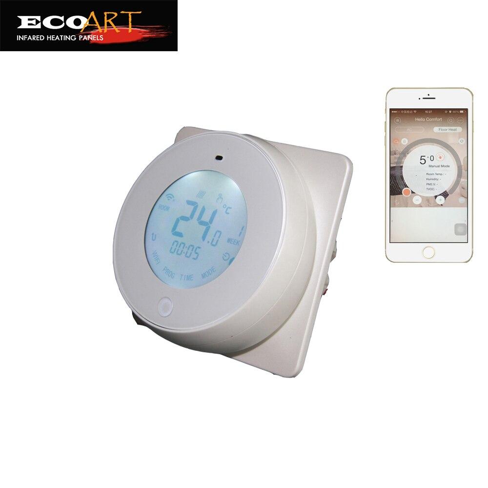 720w Infraroodverwarmingspaneel met Wifi-thermostaat - Huishoudapparaten - Foto 2