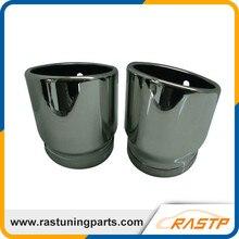RASTP-304 Из Нержавеющей Стали Глушитель Совет Трубы Из Нержавеющей Стали Для 2005-2012 Audi A6L LS-CR8003A
