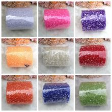 15cm 20Yards/Roll Snow Spotted Tulle Roll Yarn For DIY Tutu Skirt Wedding Birthday Party Decoration Arts Carft Packing