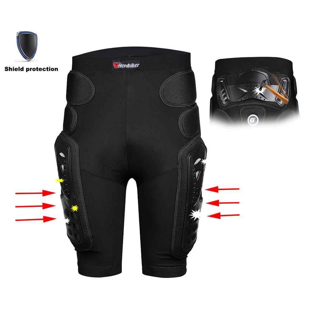 HEROBIKER Unisex Moto deporte equipo protector Hip Pad Motorcross Off-Road Downhill montaña bicicleta patinaje esquí Hockey armadura pantalones cortos
