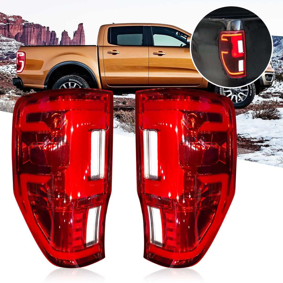 LED Stop Brake Tail Lamp Fit Nissan Navara Np300 D23 Pick Up 2015 17 Xlt Ute