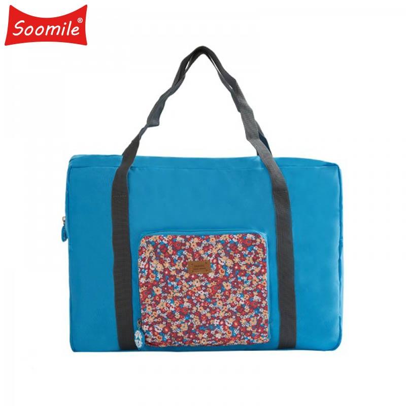 2018 New Waterproof Travel Duffel Women Foldable Travel Bags