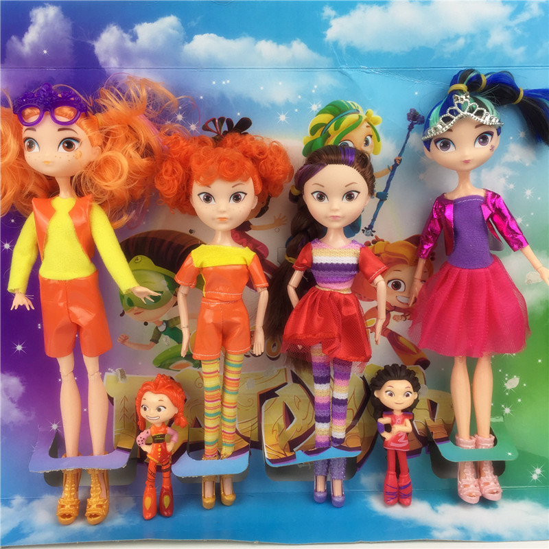 3 style 4pcs/set Fairy patrol CHE*KA MAWA AEHKA BAPR Doll Toy Princess Action Figures Model toys For Kids Christmas Gift