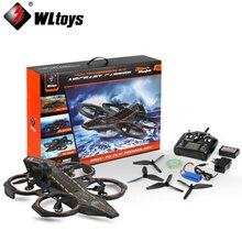 1set WLtoys Q202 4CH 6-Axis 2.4GHz Aircraft Shape Air Sea Amphibious RC Quadcopter RTF orginal