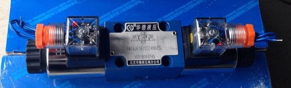 Directional control valve 4WE6J61BCG24N9Z5L hydraulic