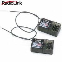 Radiolink R6FG 2,4 ГГц 6-канальный приемник FHSS радио Управление Системы гироскопа неотъемлемой для RC4GS RC3S, RC4G T8FB передатчик