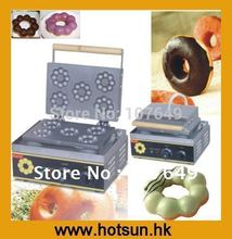 Commercial 110V 220V Electric Donut Doughnut Iron Maker Machine