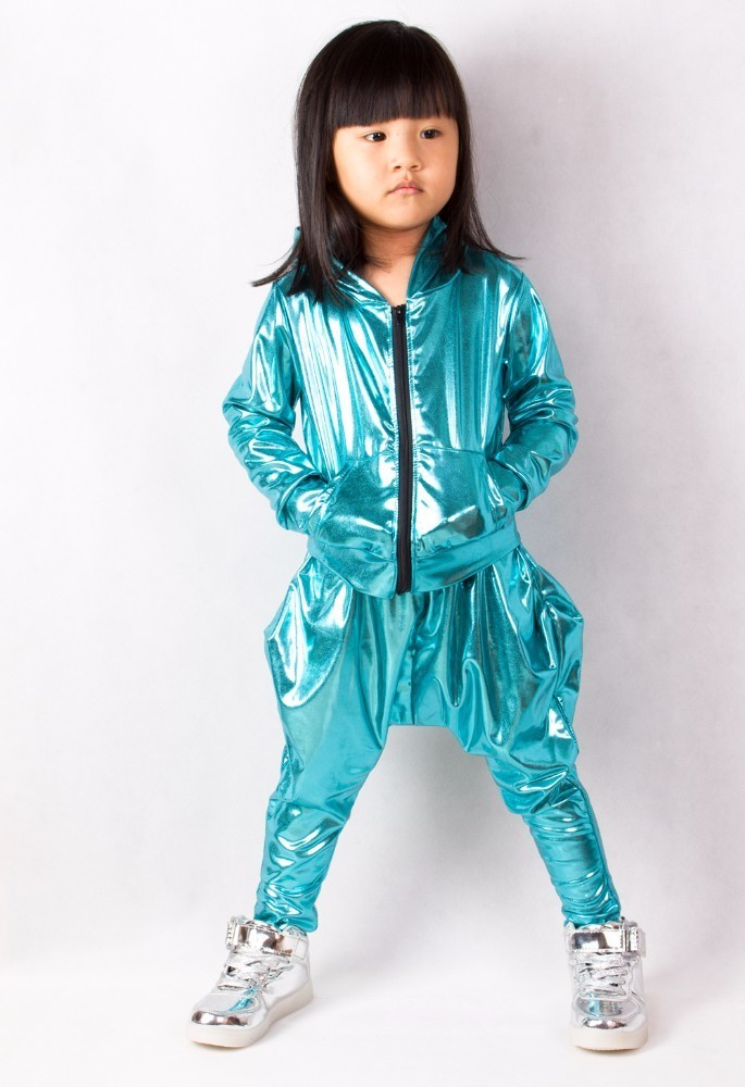 Heroprose 2018 Nieuwe persoonlijkheid Lichtblauwe grote kruisbroek - Kinderkleding - Foto 4