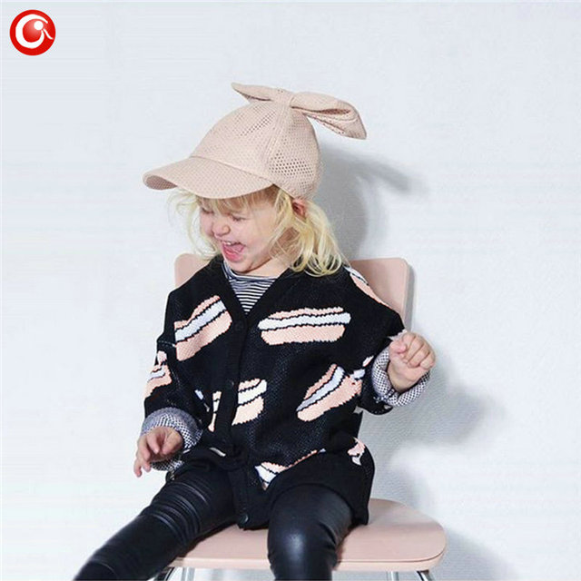 12M-4T Autumn/Winter Children Girls Cardigan Fashion Cotton Kids Boys Sweater Baby Knit Open Stitch Jumper Clothes For Christmas