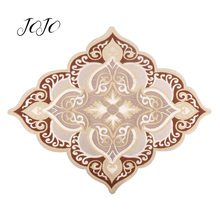 JOJO BOWS 1pc Cloth Embroidery Patches Diamond Sticker Accessory For Needlework DIY Handmade Sewing Material Home Textile