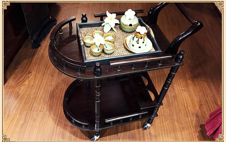 High-end beauty. Beauty wooden cart. Beauty cart. Solid wood - Furniture - Photo 5