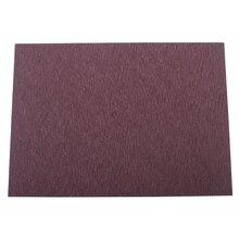 Высококлассный из искусственной кожи обеденный коврики для столиков, термостойкие противоскользящие сервировочные коврики
