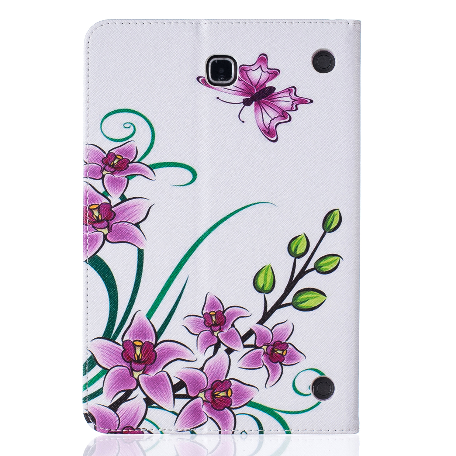 Fashion PU Leather Case For Samsung Galaxy Tab A 8.0 T350 T355 SM-T355 8'' Tablet Cover Case T350 Folio Stand Case #R