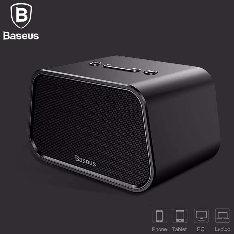 Baseus <font><b>Bluetooth</b></font> Speaker Mini Portable Outdoor Wireless Speaker 3D stereo Music surround Player <font><b>altavoz</b></font> <font><b>bluetooth</b></font> haut parleur