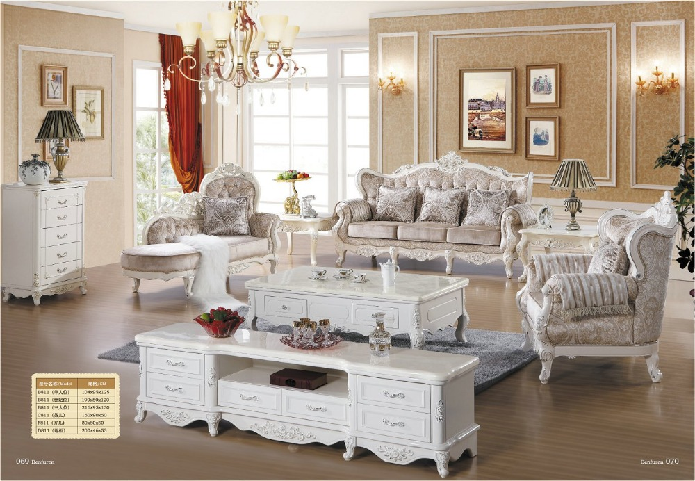 Chaise Sectional Sofa Direct Factory Special Offer European Style Antique No In Hot Sale Luxury Euro Classic Furniture Set