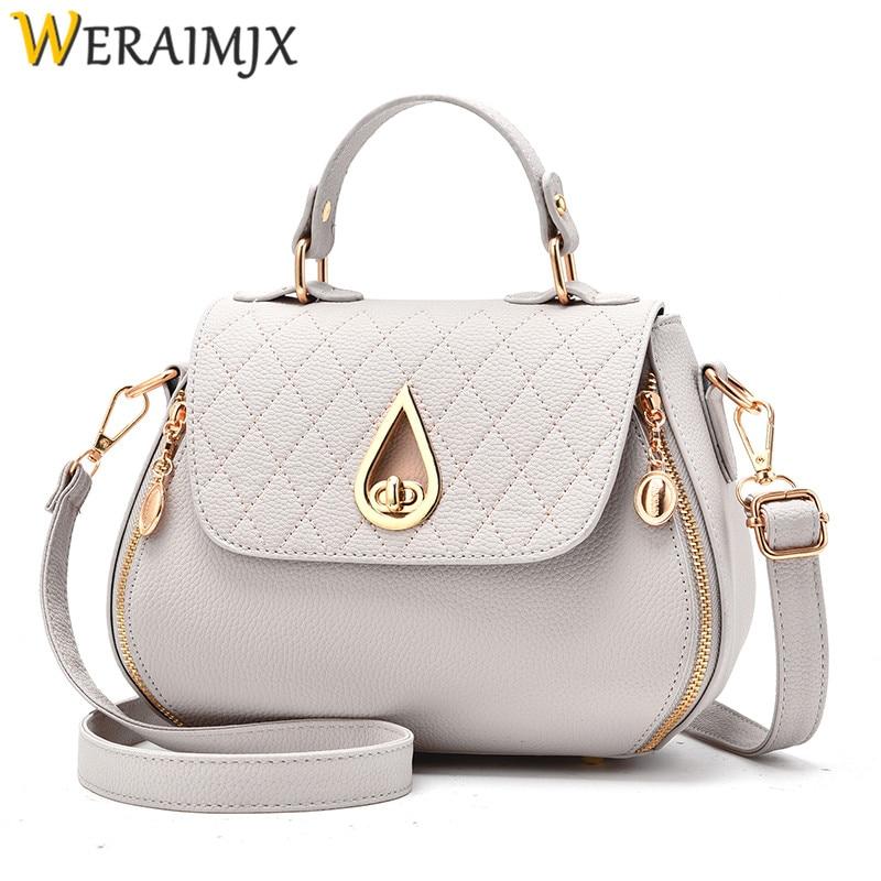 WERAIMJX Flap Cheap Women's Handbags Fashion Bags for Women 2018 Cover Solid Shoulder Bags Bolsa Feminina Crossbody Bags MJ231