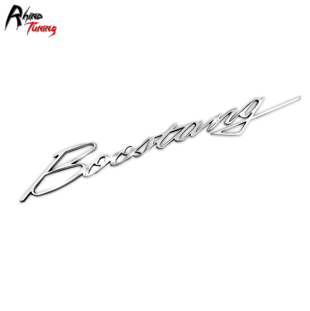 Rhino Tuning Car Styling Boostang Emblem For Mustang Shelby GT350 GT350R Turbo Auto Rear Boot Letter Badge 808 revell набор автомобиль shelby mustang gt 350 h 1к24 page 6
