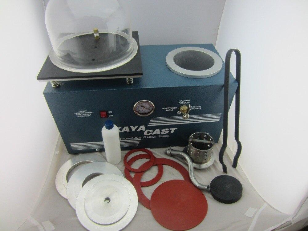 Machine de coulée sous vide, machine de coulée de gilet Kaya, machine de coulée sous vide de bijoux, mini machine de coulée de bijoux d'orfèvre joyeria