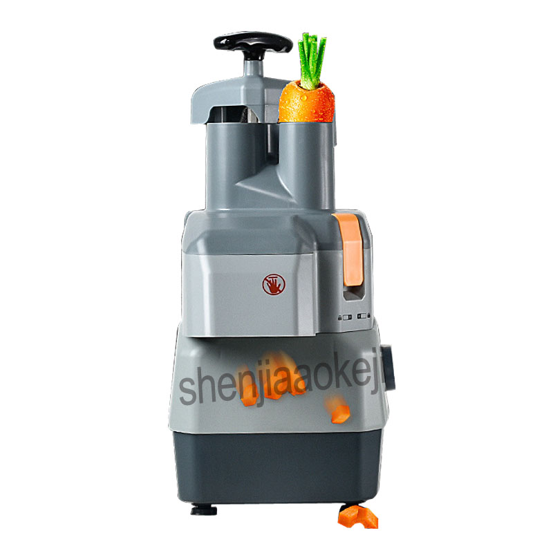 Commercial vegetable cutter Multi-function Electric cutting machine dicing slice potato cutting wire slicer cutting machine 220v free shipping ht 4 commercial manual tomato slicer onion slicing cutter machine vegetable cutting machine