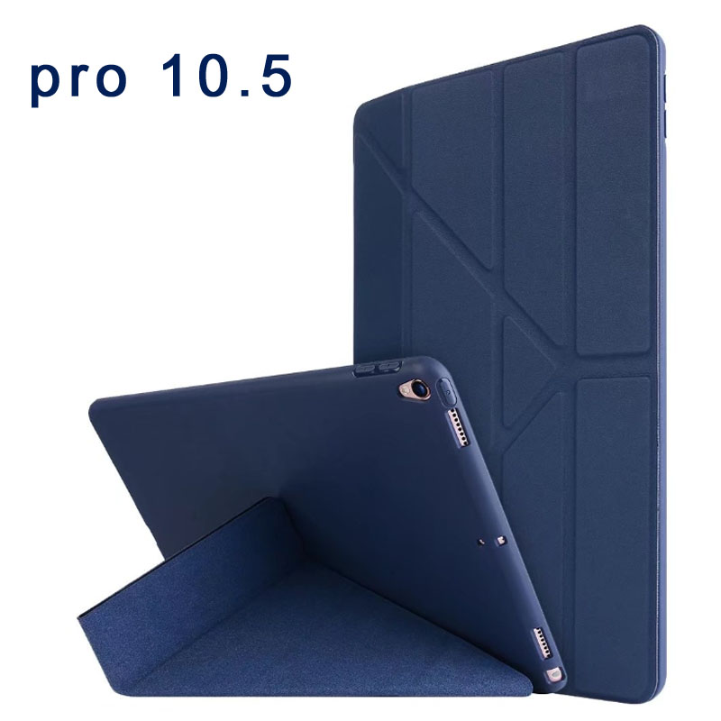 Case for Apple iPad Pro 10.5 inch ultra-thin pu Leather case Anti-shock Auto Wake & Sleep Smart Cover for iPad Pro 2017 Cover pannovo waterproof pu leather extra thick anti shock eva case for gopro hero 4 3 3 2 sj4000