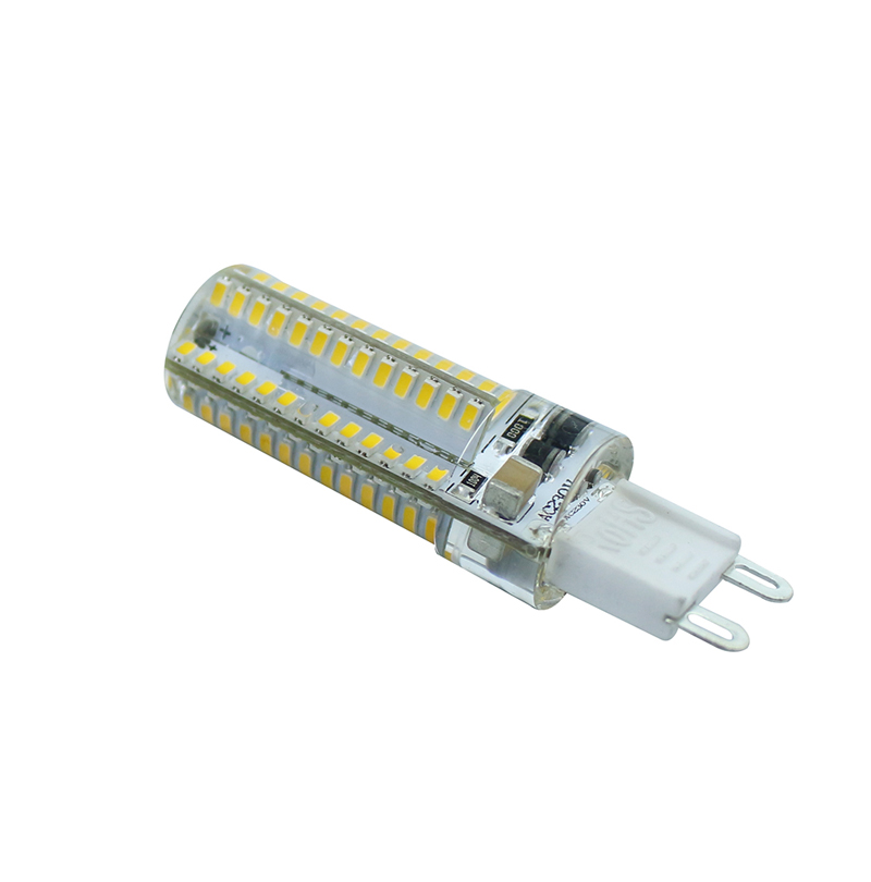 3014 220V SMD <font><b>G9</b></font> <font><b>LED</b></font> Corn Bulb 9W <font><b>LED</b></font> bulb 104LEDS Warm white/White Best quality <font><b>LED</b></font> Crystal Chandelier <font><b>COB</b></font> Spot light LEEDSUN