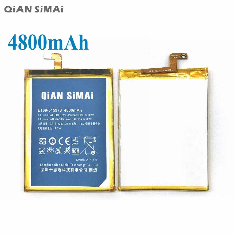 QiAN SiMAi 1pcs 100% High Quality E169-515978 4800mAh Battery For ZTE Blade X3 D2 Q519T A452 phone