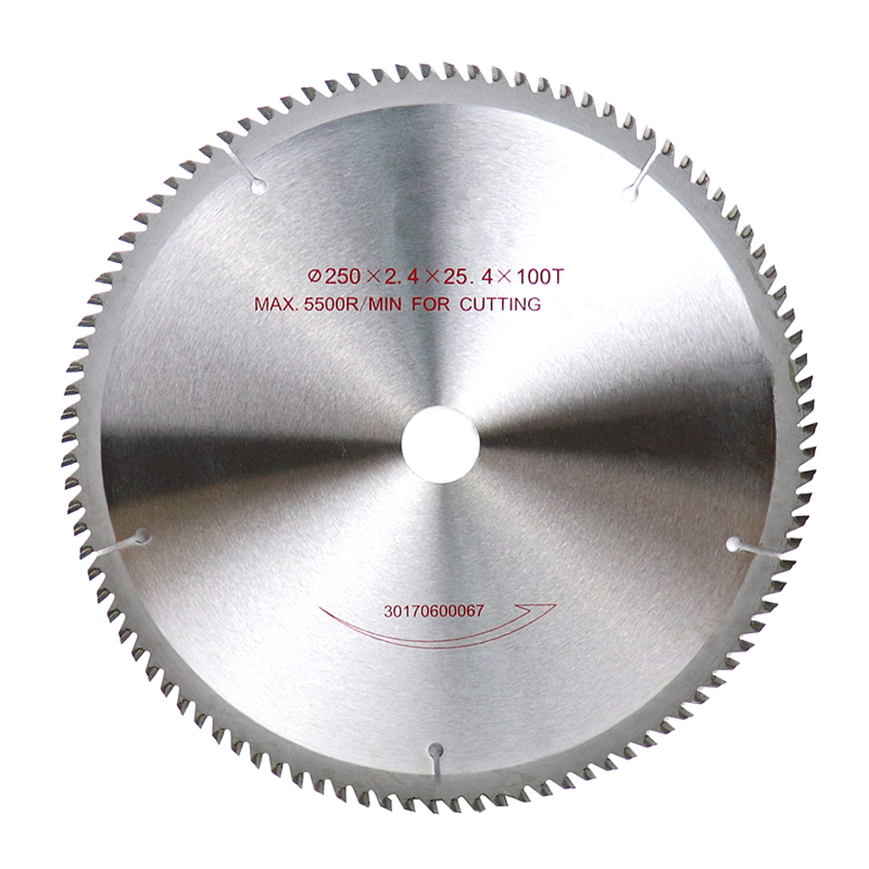 10''/250mm Circular Saw Blade 60T/80T/100T/120T Tungsten-cobalt Alloy Cutting Disc Saw Blades For Wood Aluminum Tool Accessories