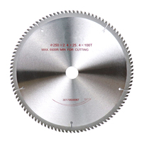 10''/250mm Circular Saw Blade 60T/80T/100T/120T Tungsten cobalt Alloy Cutting Disc Saw Blades For Wood Aluminum Tool Accessories