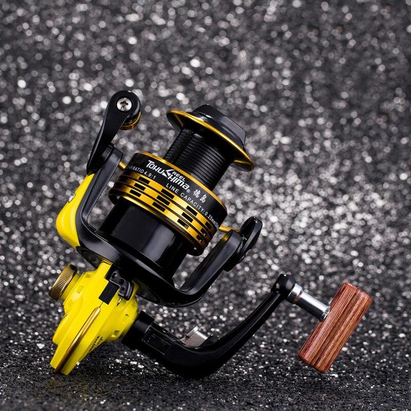Bobine de pêche en métal de la série Tokushima TN-X double roulement série 10 roulements