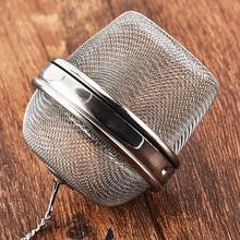 Большая чайная клетка 304 из нержавеющей стали фильтр чайный отсек
