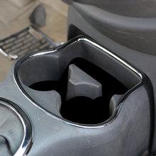 Цвет моей жизни автомобиль ABS хромированные стакана воды Circle Trim перчатки Шкатулка декоративная Стикеры для Nissan Sunny 2011-2015 аксессуары