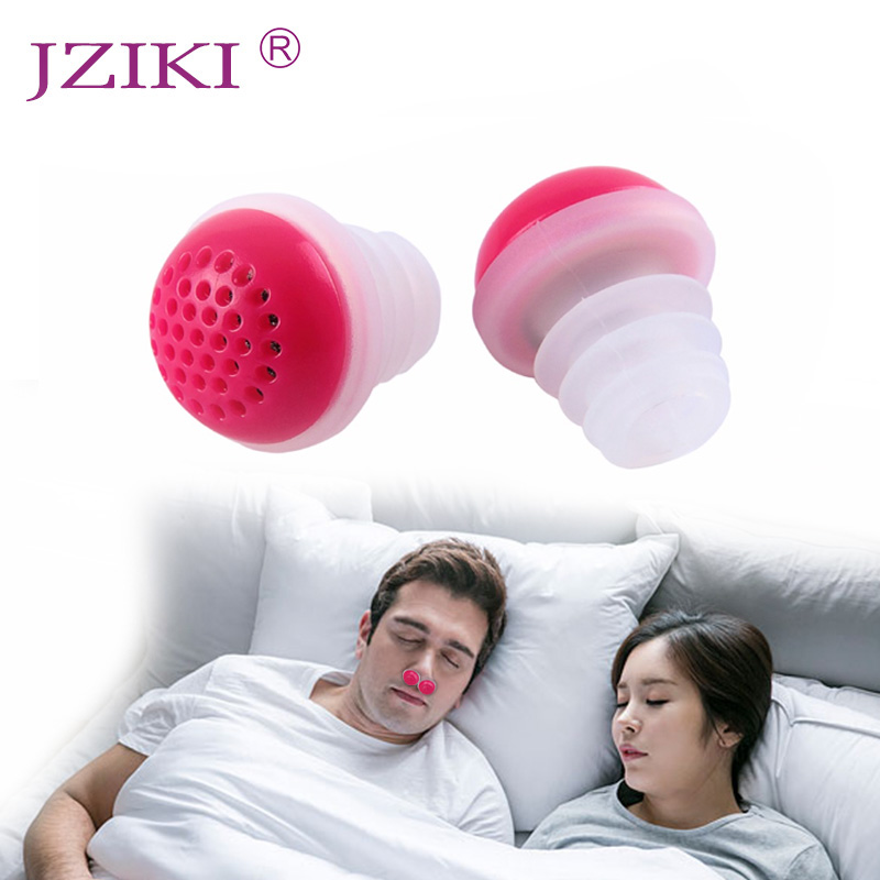 JZIKI Mini Relieve Snoring Device Nose Breathing Apparatus Stop Snore Devices Anti Snoring Nose Clip Night Sleeping Aid