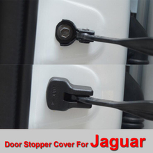 4PCS Car Door Stopper Protection Decoration Cover for Jaguar Door Stopper Anti rust and Anti rain protection cover modification