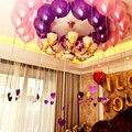 100 Unids/pack 10 Pulgadas de Helio Globos de Aire de Látex Multicolor globo de La Perla Del Partido Del Feliz Cumpleaños de La Boda Decoración de Bolas de Aire