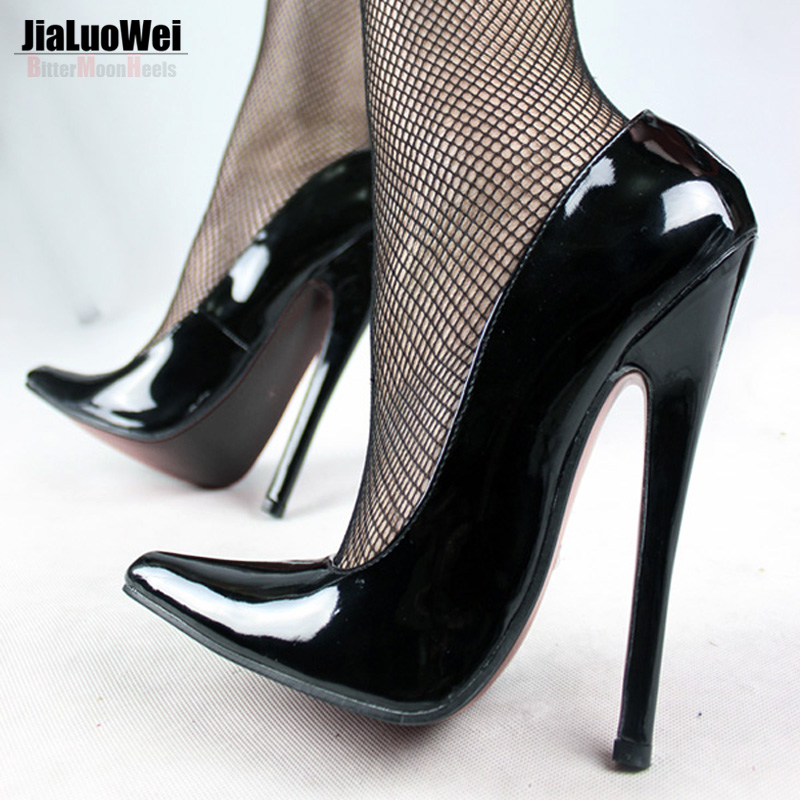FETISH 7 inch EXTREME HEEL Funtasma high heel shoes Sexy Patent ...