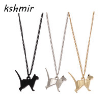 kshmir contracted origami short black The dog necklace collarbone women adorn article 3 d model