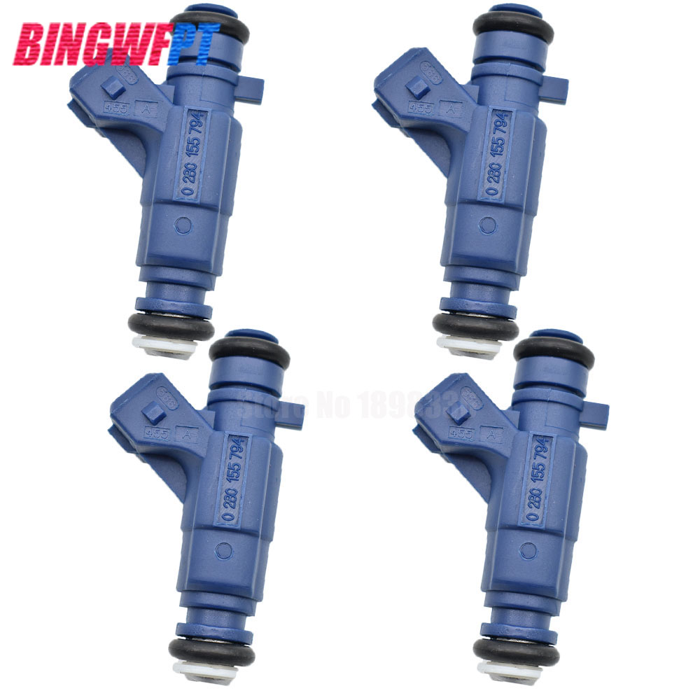 4pcs set High quality Fuel injectors 0280155794 for CITROEN SAXO XSARA For PEUGEOT 206 306