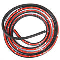 "EE support  315"" 8Meter Big D 3M Auto Car Motor Door Rubber Seal Strip Weatherstrip Seals Hollow Car-styling XY01"