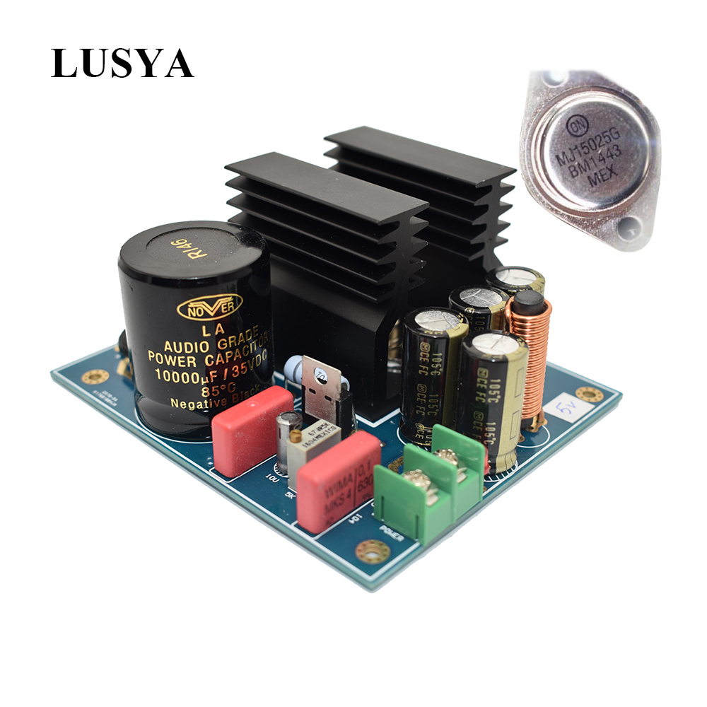 Lusya 2-10A Gold Seal Linear High Current Regulated Power Supply Board Low Noise High Stability B2-004