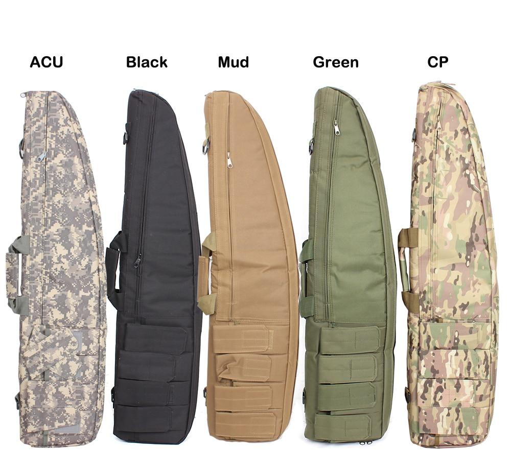 2018 100% Νέα Ζεστό Πώληση Πυροβόλο Θήκη Προστασίας Backpack Εξωτερική Κυνήγι Σακίδιο Στρατιωτικό Τυφέκιο Πλατφόρμα Μεταφέρετε τακτική Gun Bag