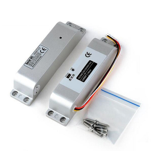 Image 2 - 木製ゲートドア電気ほぞdc 12ボルトフェイルセーフ電気ドロップボルトロック用ドアアクセス制御セキュリティロックドアシステム