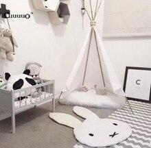 Kawaii Baby Bunny Play Mats 106*68CM