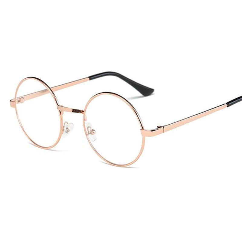 99acac308579 ... Hot Women Men Big Round Glasses Frames Newest Purely Handmade Vintage  Optical Eye Frame Plain Glass