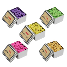 Backflow Incense Cones 80Pcs/Box Natural Aroma Reflux Incense Lavender Jasmine Osmanthus Rose Green Tea Colored Smoke