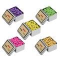 Backflow Incense Cones 80Pcs/Box Natural Aroma Reflux Incense Lavender Jasmine Osmanthus Rose Green Tea Colored Smoke