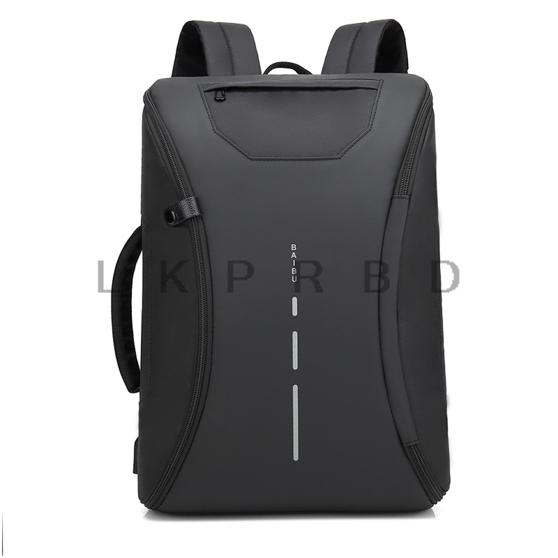 2018 BAIBU Men Black  inch Laptop Business Backpack Multifunction USB Charging Travel Bag Unisex Fashion Casual Backpacks2018 BAIBU Men Black  inch Laptop Business Backpack Multifunction USB Charging Travel Bag Unisex Fashion Casual Backpacks