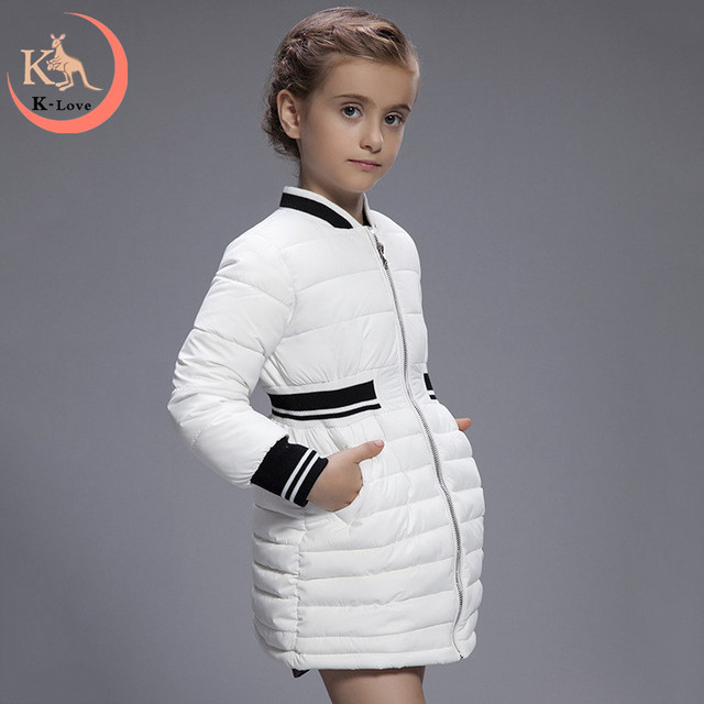 1a6e7870b 2016 New Winter Childrens Jackets Fashion Girls Down Coat 5 9 Years ...