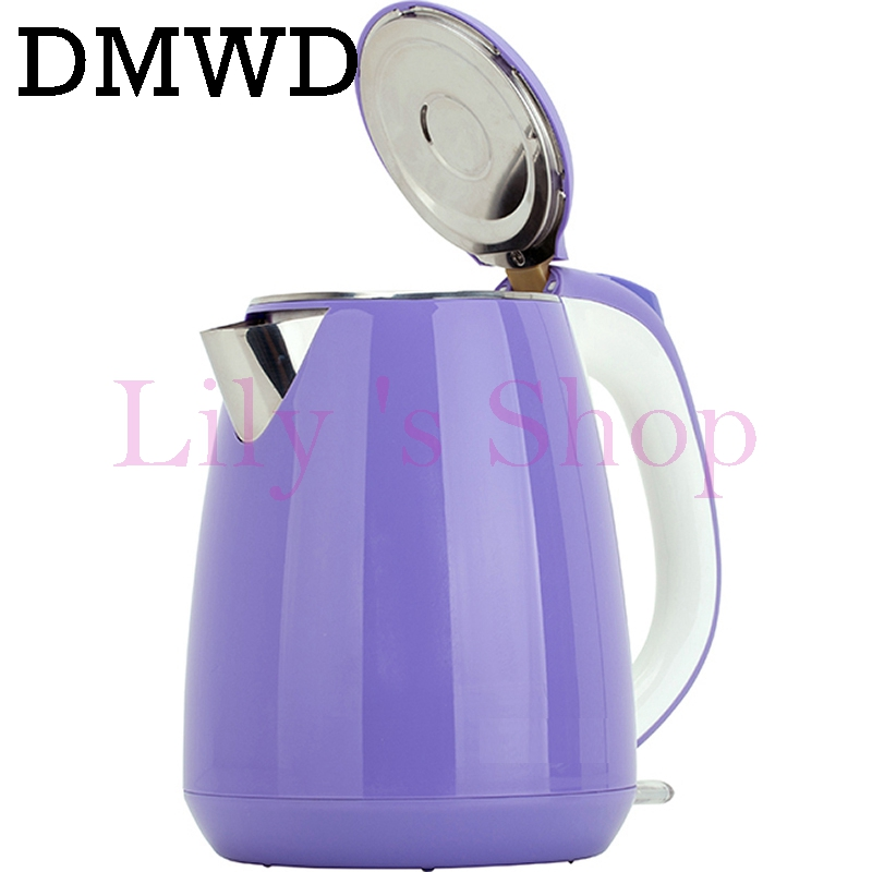 Anti-hot electric kettle stainless steel water heating kettles cup teapot Anti-burning hot water bottle 1800W 1.5L EU US plug electric kettles concealed stainless steel heating element fast boil water teapot samovar teaculture 1 7l